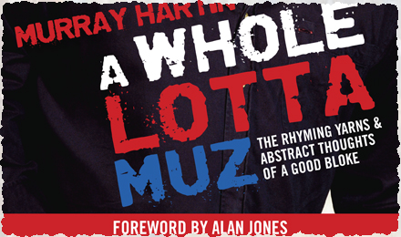 A whole lotta muz - the book